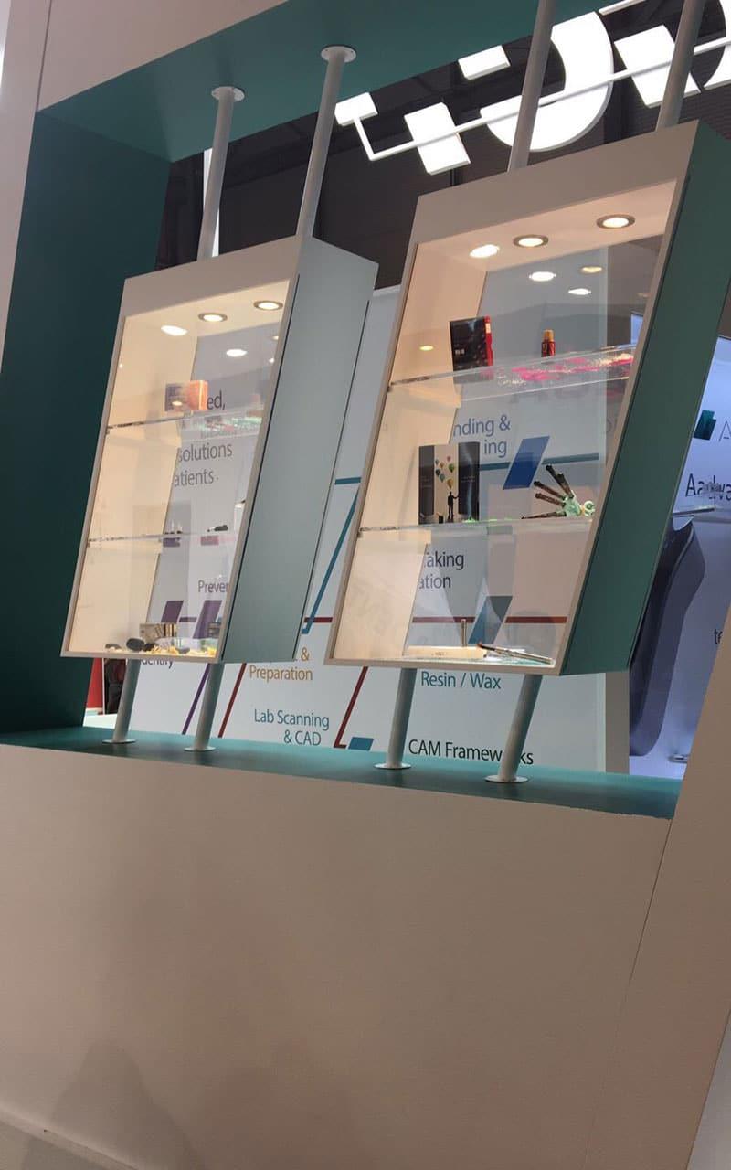 vitrinas exposición accesorios dententas stand gc