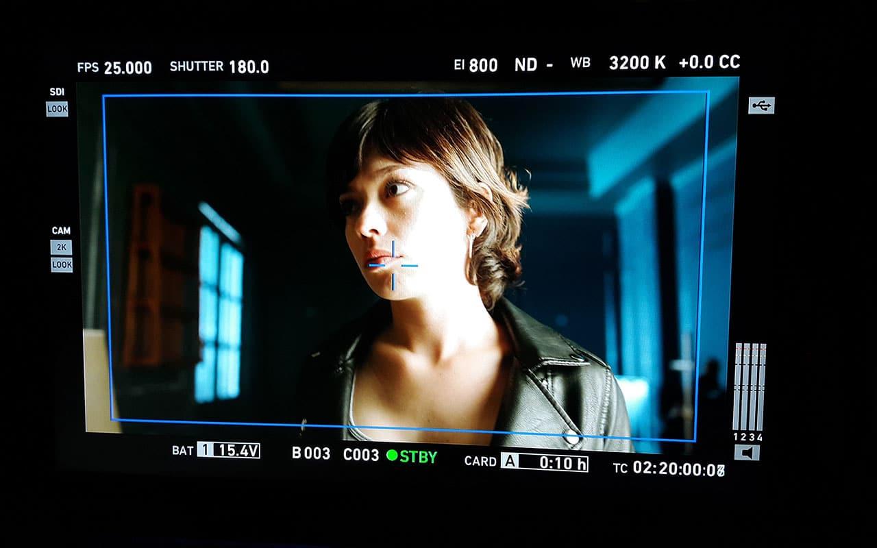 Primer plano de cámara Anna Castillo Estoy vivo