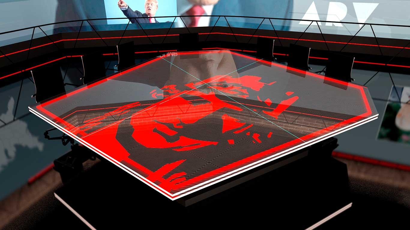 Detalle de la decoración nueva mesa Al Rojo Vivo