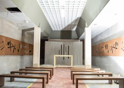 Iglesia de la cárcel vista general