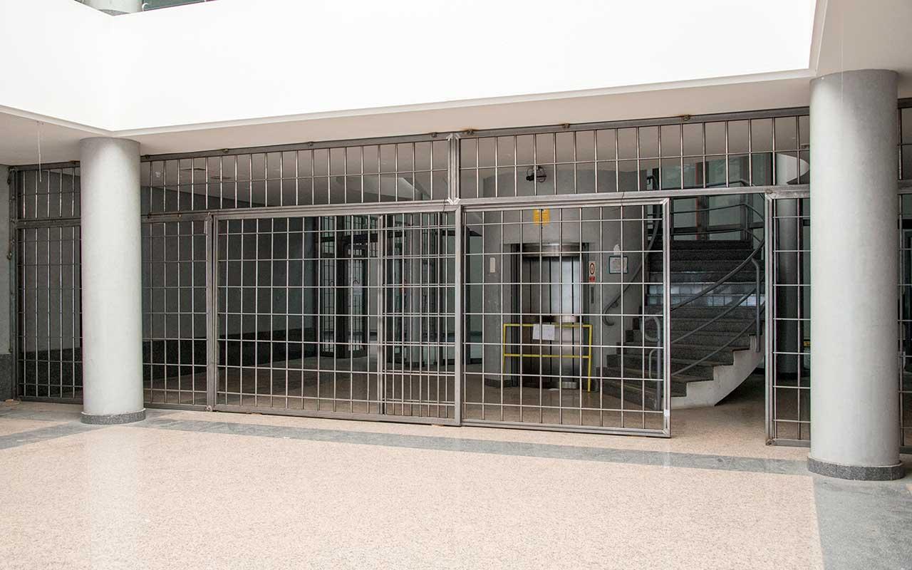 Rejas acceso celdas