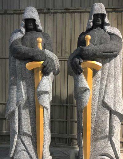 Escultura-en-la-Casa-de-Papel-3-porexpan-